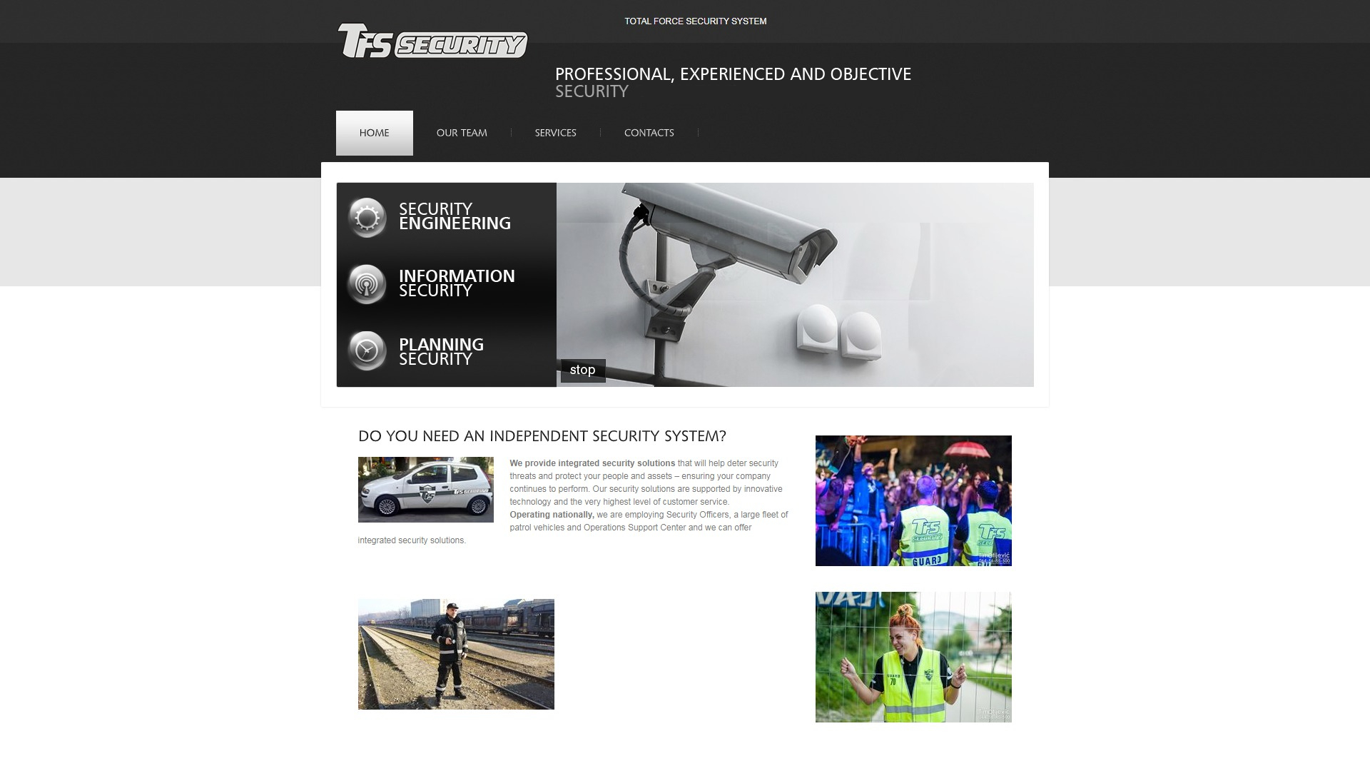 TFS System ( Total Force Security )